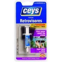 Adhesivo retrovisores metal cristal 1 gr ceys