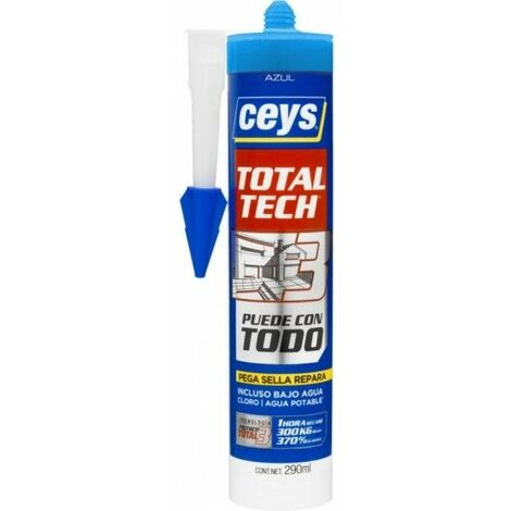 Adhesivo Sellador Polimero 290 Ml Az Total Tech Xpress Ceys