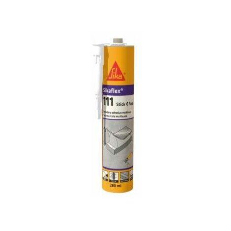 Adhesivo Sellador Polimero 290 Ml Ne Flex Sikaflex-111 Stick Se
