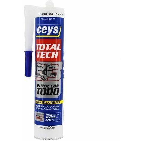 Adhesivo sellador Total Tech blanco Ceys