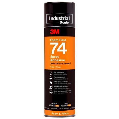 Adhesivo Super 74 aerosol 500ml S74 especial espumas 3M