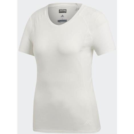design de qualité d5262 3a60e ADIDAS T-shirt de running FR SN - Femme - Blanc - XL - Adidas Performance