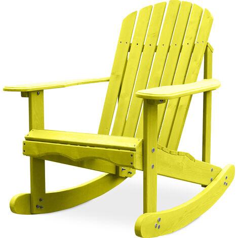 Adirondack Garden Rocking Chair