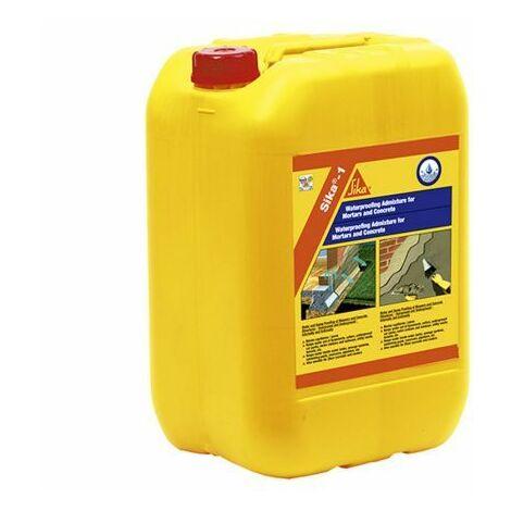 Aditivo impermeabilizante Sika 1,25 kg amarillo