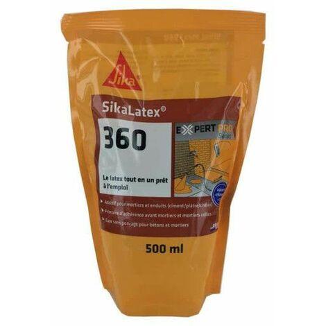 Aditivo para morteros y hormigones listo para usar - SIKA SikaLatex 360 - Blanco - 2L