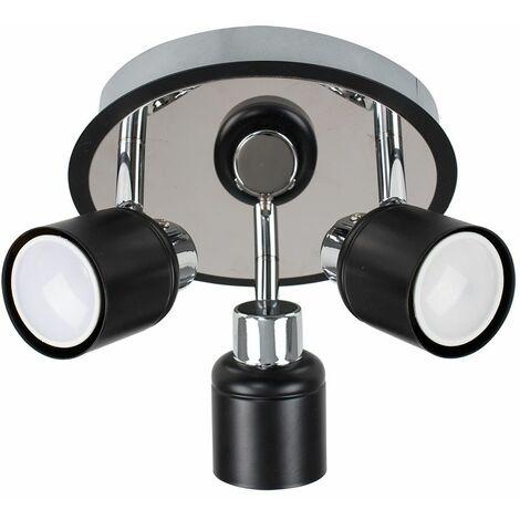 Adjustable 3 Way Ceiling Light Spotlight