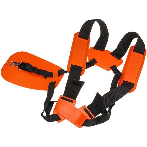Adjustable Double Strap Shoulder Harness For Brushcutter Hasaki