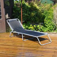 Adjustable Garden Sun Lounger