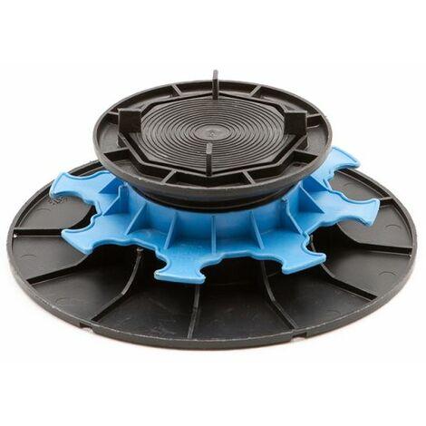 Adjustable pedestal 50 85 mm for slabs, tiles or ceramics - Jouplast