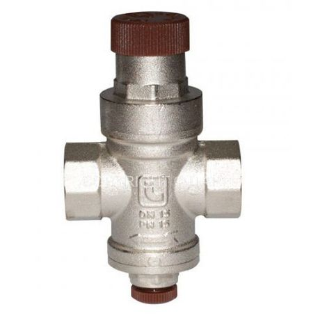 "Adjustable pressure reducing valve 1/2"" bsp female (dn15mm) reduction to 1-4bar outlet"