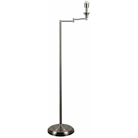 Adjustable Swing Arm Floor Lamp Base - Antique Brass - Gold