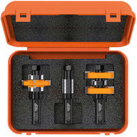 ADJUSTABLE TONGUE & GROOVE BIT SETS FOR MISSION STYLE CABINET DOORS