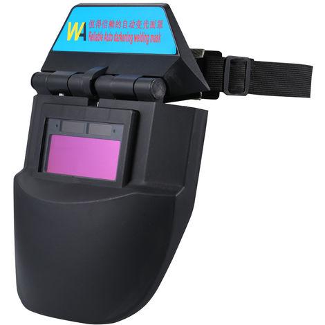 Adjustable Welding Helmet Auto Darkening Solar Powered Cap For Soldering
