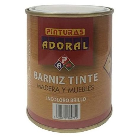 ADORAL BARNIZ 750 ML.TINTE NOGAL BRILLO