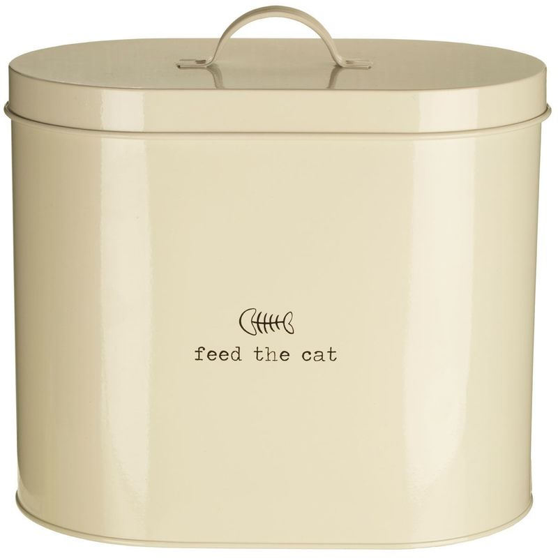 Image of Adore pets feed the cat food storage bin with/spoon,6.5 litre