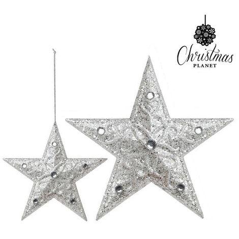 Adorno Navideño Christmas Planet 8179 (10 cm) Plateado