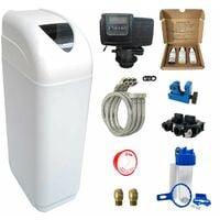 Adoucisseur d'eau 14L Fleck 5600 SXT complet avec accessoires