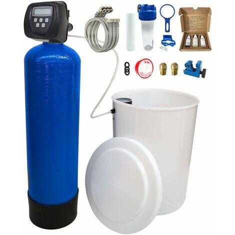 Adoucisseur d'eau bi bloc 20L Clack WS100V complet