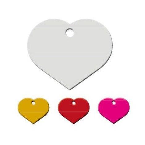 Adressanhänger mit Gravur - Herz klein