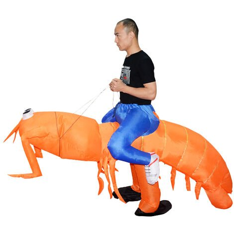 """main image of """"Adult Pippi Shrimp Inflatable Clothes"""""""