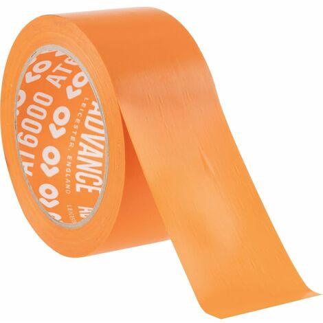 Advance 50MMX33M Orange Pvc Building Tape