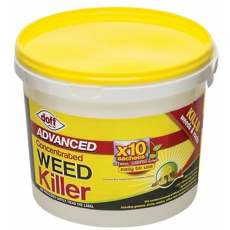 Advanced Concentrated Weedkiller 10 Sachet DOFFY010