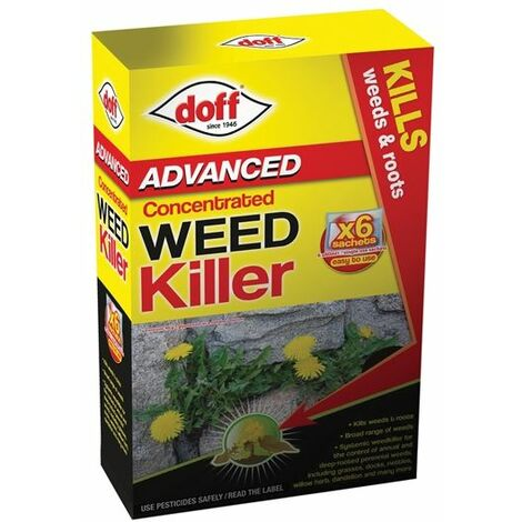Advanced Concentrated Weedkiller 6 Sachet (DOFFY006)