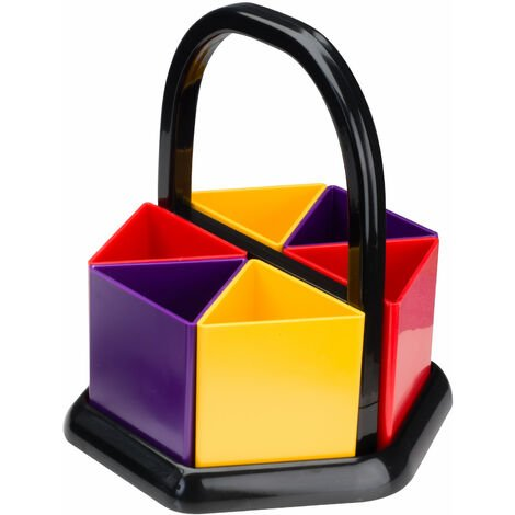 Adventa Handi-Holder Assorted Colours Desk Tidy