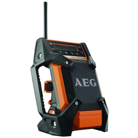 AEG 12V-18V DAB + USB workstation radio without battery and charger BR 1218C-0