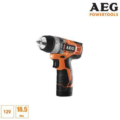 AEG 12V Li-ion screwdriver drill - 1 1.5Ah Pro-Lithium battery - 1 charger 30min - BS12C-151B