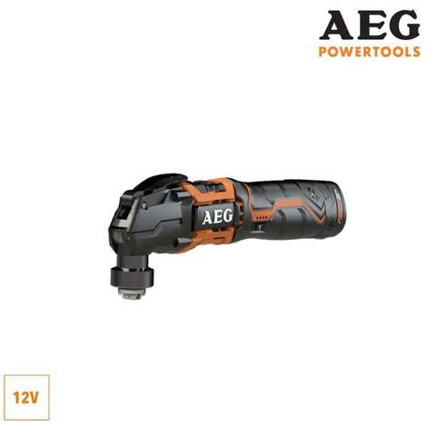 AEG 12V multi tool multifunction tool - 2 batteries 1.5Ah - 1 charger BMT12C-152B