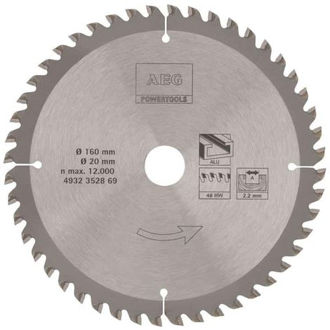 AEG circular saw blade 2.2x160mm metals 4932352869