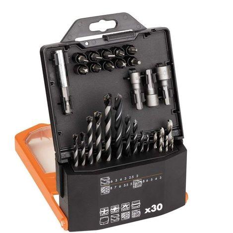 AEG coffret 30 accessoires de percage et vissage 4932430410