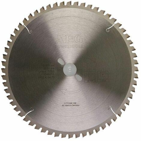 AEG Elektrowerkzeuge Sägeblatt Holz für Kapp- und Gehrungssägen 305/30 mm Z60 - 4932430473