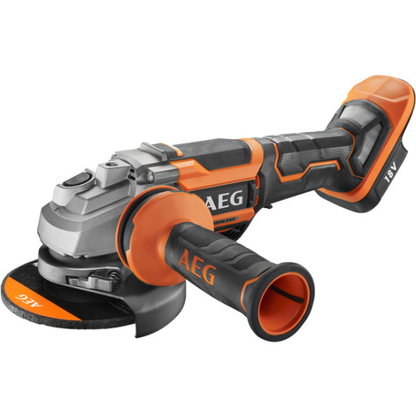 AEG - Meuleuse d'angle 125 mm Brushless 18 V sans batterie ni chargeur - BEWS 18-125BLPX-0