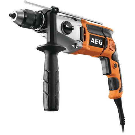 AEG - Perceuse à percussion 1100 W 60 Nm 2 vitesses avec coffret - SB2E 1100 RV - TNT
