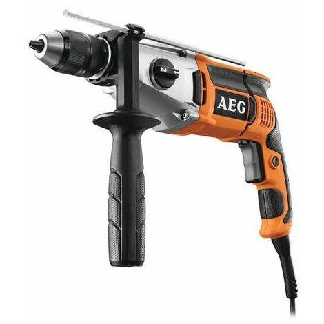 AEG Perceuse a percussion 2 vitesses SB2E1100RV - 1100 W - 60 Nm