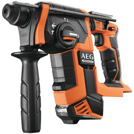 AEG - Perforateur SDS-Plus Brushless 18 V sans batterie ni chargeur 2.5 J - BBH 18BL-0