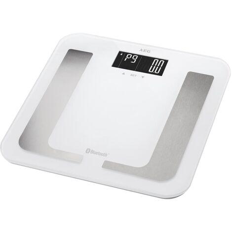 AEG Pèse-personne de diagnostic avec Bluetooth PW 5653 BT Blanc