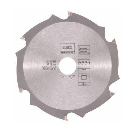 AEG Powertools Lame pour scie circulaire 124/20 mm, D6 - 4932352534