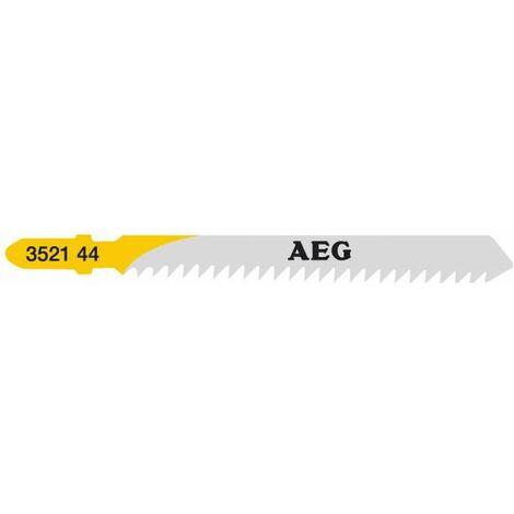 AEG Powertools Lames scie sauteuse, 75 x 3 mm T111C, 5 pcs - 4932352144