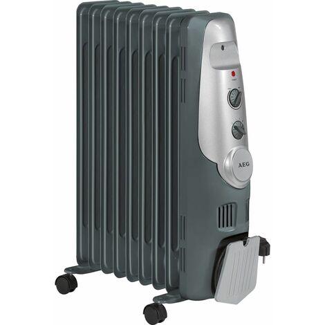 AEG RA 5521 Radiador de aceite 2000W 9 elementos termostato 3 niveles potencia
