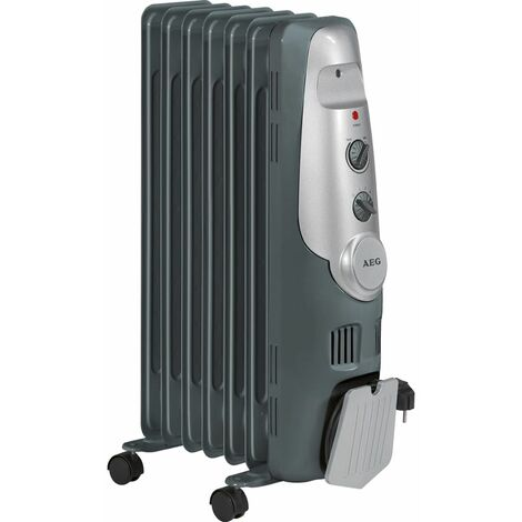 AEG Radiador de aceite 1500 W RA 5520 - Gris