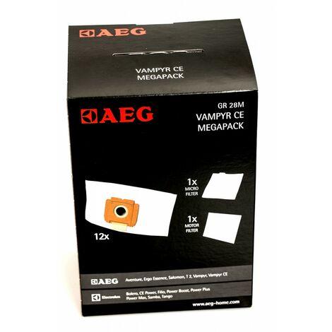 Vampyr CE Turbo Electronic 10 Vlies Filtertüten passend für AEG
