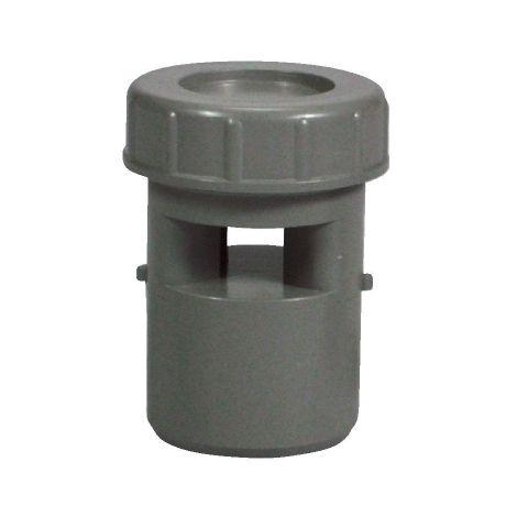 Aérateur à membrane PVC gris - Ø 40 mm - Regiplast
