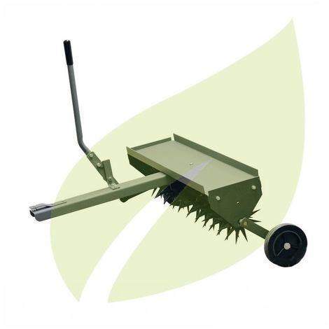 Aérateur à tracter pour tondeuses autoportées