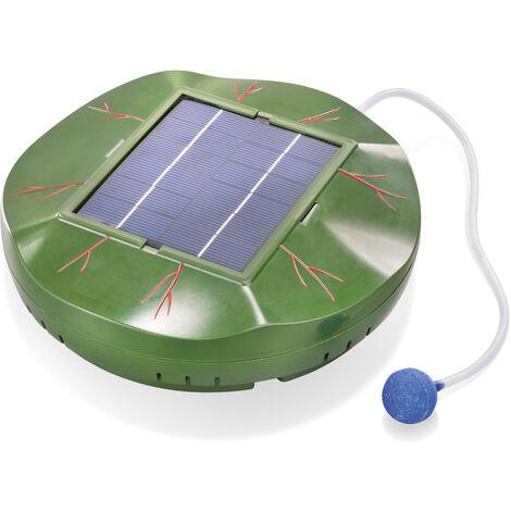 Aérateur de bassin solaire flottant 120l / h Ventilation de bassin de jardin esotec 101875