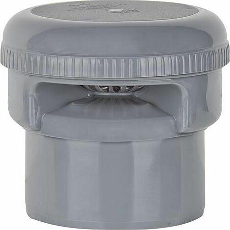 Aerateur de tuyau NW 50/40 Couleur : gris