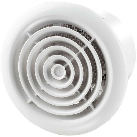 Aérateur extracteur d'air 100 PF - 100mm plastique - Winflex
