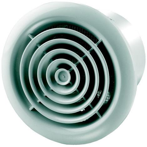 Aérateur extracteur d'air 150 PF - 150mm aluminium mat - Winflex